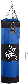 Akozon Boxing Punch Bag Niños Niños Boxeo Heavy Punching Training Bag Fitness Sandbag Ejercicios Workout Power Bag(80cm Hueco)