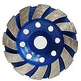 Copa Muela de diamante abrasivo espesado 100 mm de hormigón de piedra amoladora de disco de pulido Abrasivos