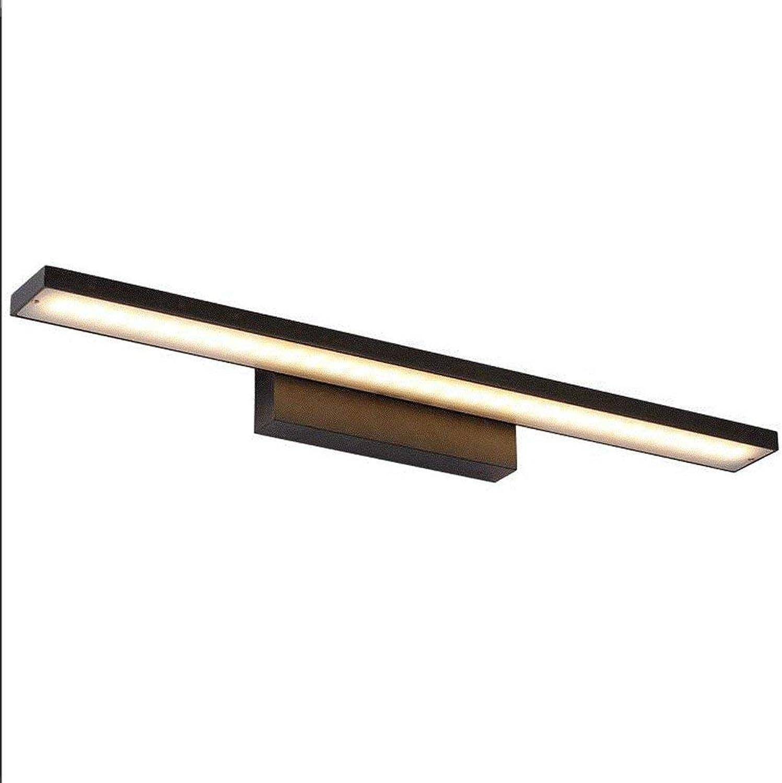 Bad Beleuchtung LED-Spiegel Scheinwerfer, Badezimmer Badezimmer einfach Aluminium Spiegel Licht (Farbe  B-Warmwei-12 w 60 cm)