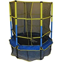 Upper Bounce 55 Inch Kid-Friendly Trampoline & Enclosure Set