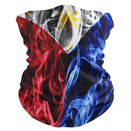 Philippines Flag Face Mask Gaiter Bandana Neck Scarf Headwear...