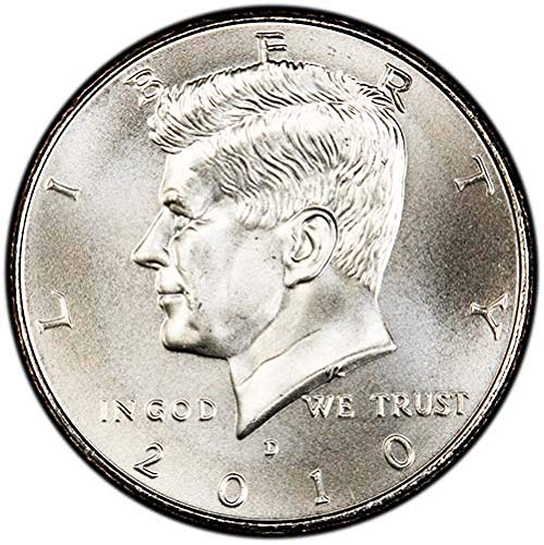 2010 D Satin Finish Kennedy Half Dollar Choice Uncirculated US Mint