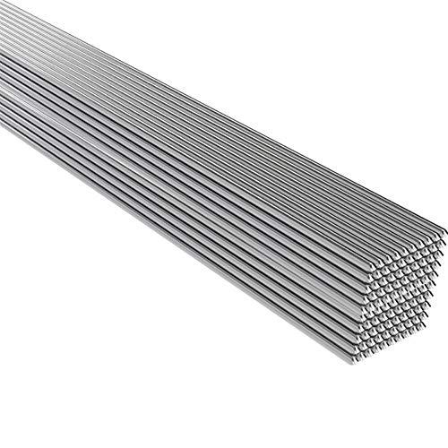 SchweißStäBe Set For Metallverarbeitung Werkzeugwechsel 50pcs Aluminiumlösung Schweißen Fülldraht-Rods Schweiß-Zubehör (Diameter : 1.6mm)