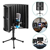 Best NEEWER Vocal Microphones - Neewer Tabletop Compact Microphone Isolation Shield with Tripod Review