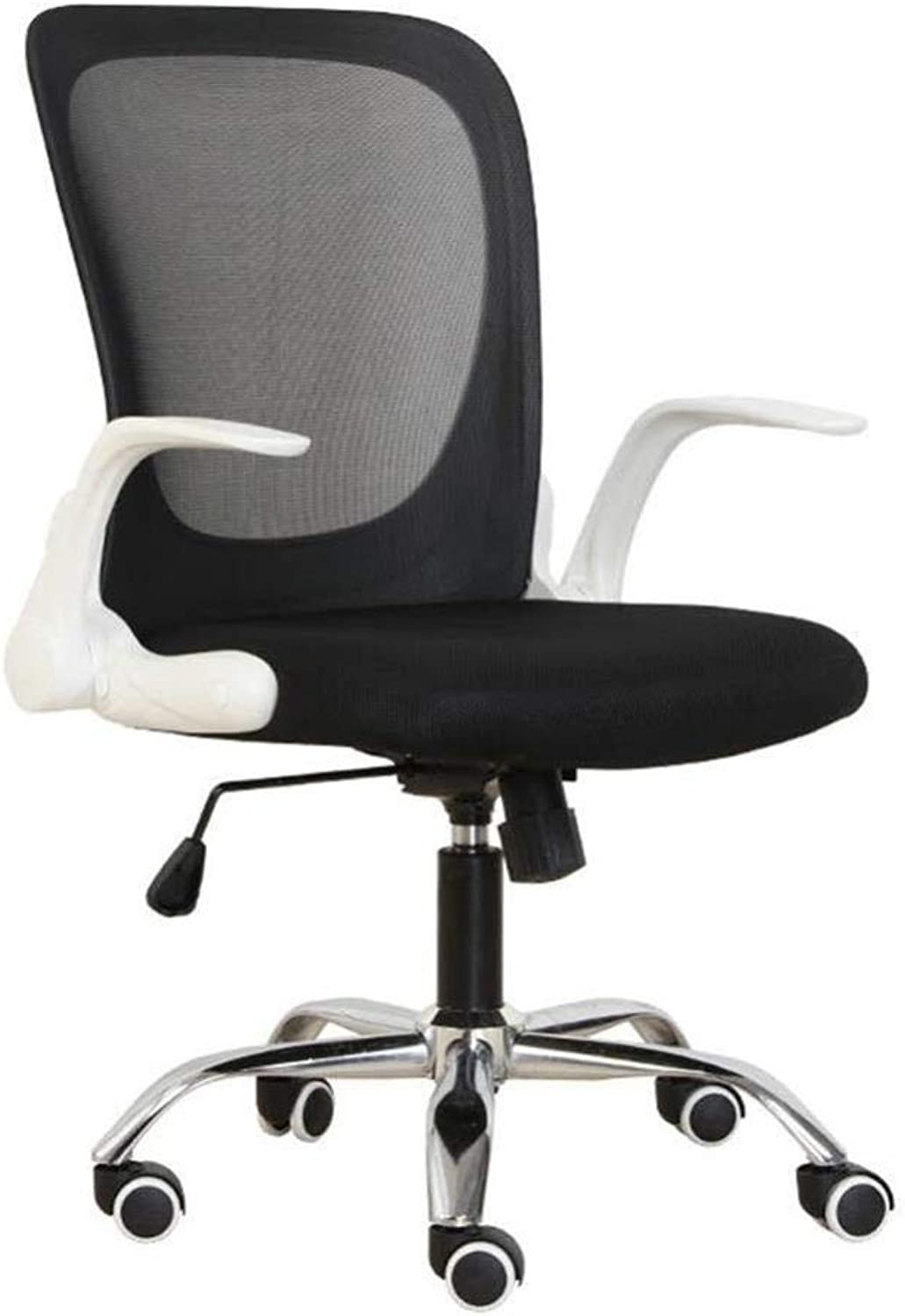 Office Chair Computer Chair Home Office with Wheel Lift Armrest ( color   A )