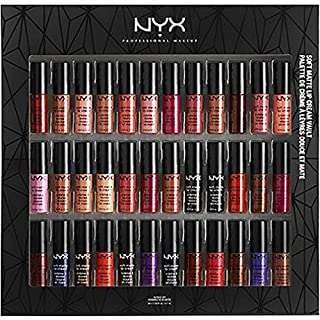 NYX Soft Matte Lip Cream Vault Set - 36 colors - NEW Limited Edition