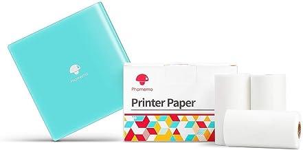 $55 » M02 Mini Portable Bluetooth Printer & 3 Rolls White Self-Adhesive Thermal Labels