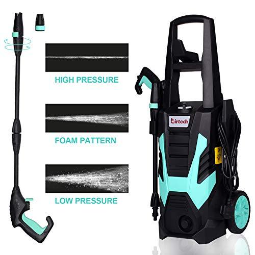 Stream Garden Pressure Washer Power Washer,1800W 135Bar 330L/H Portable Jet Washer with...