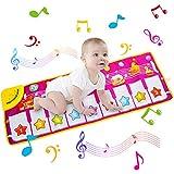 MatSailer Alfombrilla de piano para niños, la mejor alfombrilla...