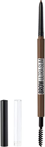 Maybelline New York Brow Ultra Slim Defining Eyebrow Makeup Mechanical Pencil With 1.55 MM Tip & Blending Spoolie For...