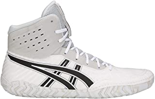 ASICS Men's Aggressor 4 White/Black 12.5 D US