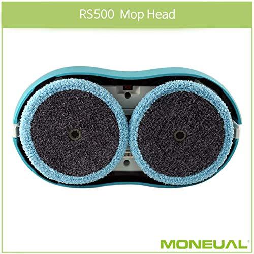 MONEUAL Mikrofaserpad (2 Stück) für Everybot RS500