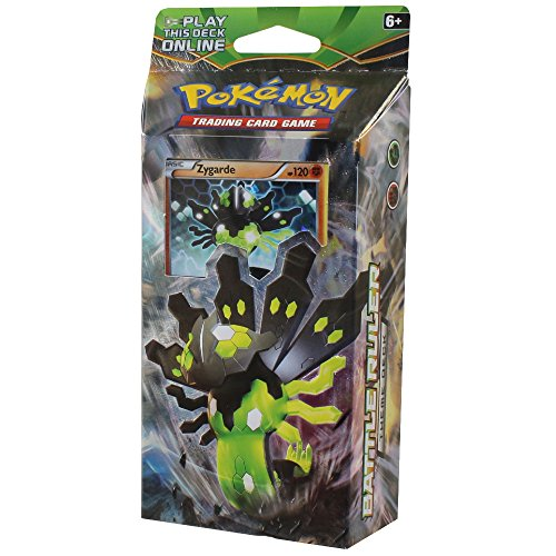 Pokemon TCG: XY Fates Collide, Battle Ruler 60-Card Theme Deck Featuring A Holographic Zygarde