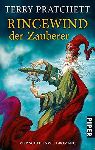 Rincewind, der Zauberer (Scheibenwelt): Vier Scheibenwelt-Romane (Die Farben der Magie . Das Licht der Phantasie . Der Zauberhut . Eric)