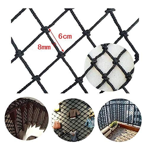STTHOME Child Safety Net Protection Climbing Frames Children's safety nets, Balcony stairs railings fall prevention Garden isolation Ceiling decoration Cargo protection Football nets Pet isolation