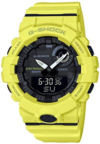 [カシオ] 腕時計 ジーショック 歩数計測 Bluetooth 搭載 GBA-800-9AJF メンズ イエロー