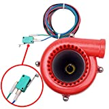 Red Black Car Fake Turbo Electronic Hooter Dump Blow Off Valve BOV Analog Sound-Simulator Kit Compatible with Acura Honda