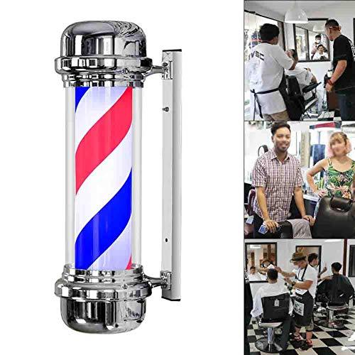 N / A Barbiers Pole lumière Hair Salon Professionnel lumières Coiffure rétro Mur Signe éclairage extérieur Hair Salon Light Box 110 / 220v
