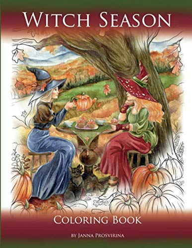 Witch Season: Coloring Book