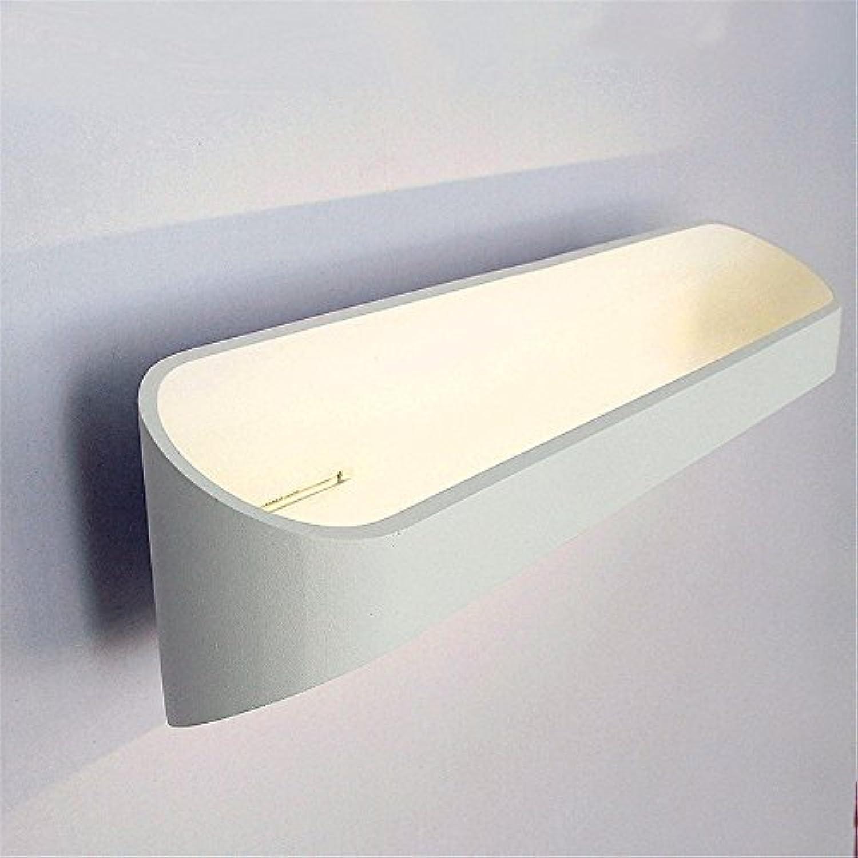 Modern LED Wandleuchte Kreative persnlichkeit wohnzimmer schlafzimmer bett gang gang flur treppen LED wandleuchte (B8C3) Vintage Retro Café Loft Bar Flurlampe, Wandlampe Upaus Aluminium für Flur.