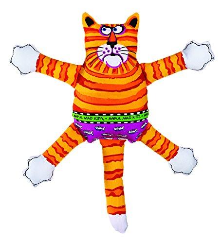 Bamboo Pet DAM660104 Fat cat Terrible Nasty Scaries, Assorted