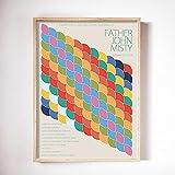 Domando al impala en Glastonbury carteles e impresiones, cuadros de pared en color retro con clave n...