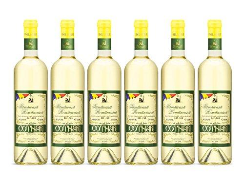 Cotnari | Tamaioasa Romaneasca – Rumänischer Weißwein süß | Weinpaket (6 x 0.75 L) D.O.C. – C.M.D. + 1 Kugelschreiber Amigo Spirits gratis