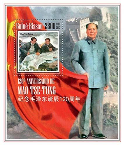 ギニアビサウ『毛沢東生誕120周年』A