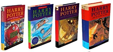 Hary Potter Boxed Set Collector's Edition (Four Volumes, Harry Potter and the Philosopher's Stone, Harry Potter and the Chamber of Secrets, Harry Potter and the Prisoner of Azkaban and Harry Potter and the Goblet of Fire)