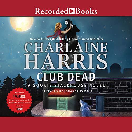 Club Dead audiobook cover art