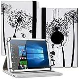 Tablet Hülle kompatibel für Xido Z120 Z110 X111 X110 Tasche Schutzhülle Hülle Cover aus Kunstleder Standfunktion 360° Drehbar, Farben:Motiv 7