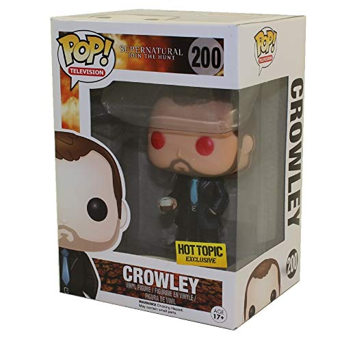 Figura Pop Supernatural : Crowley Ojos Rojos