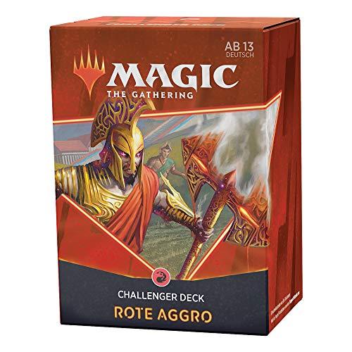 Magic the Gathering C91211000 Challenger Deck 2021 – Mono-Rot-Aggro