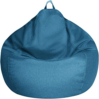 CBBPET Bean Bag Chair Covers for Adults,Teens,Bean Bag Sofa Cover Only Without Filling-Memory Foam&Stuffed Animal Storage