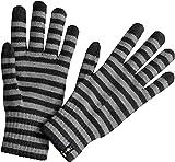 Smartwool Striped Liner Gloves Black LG