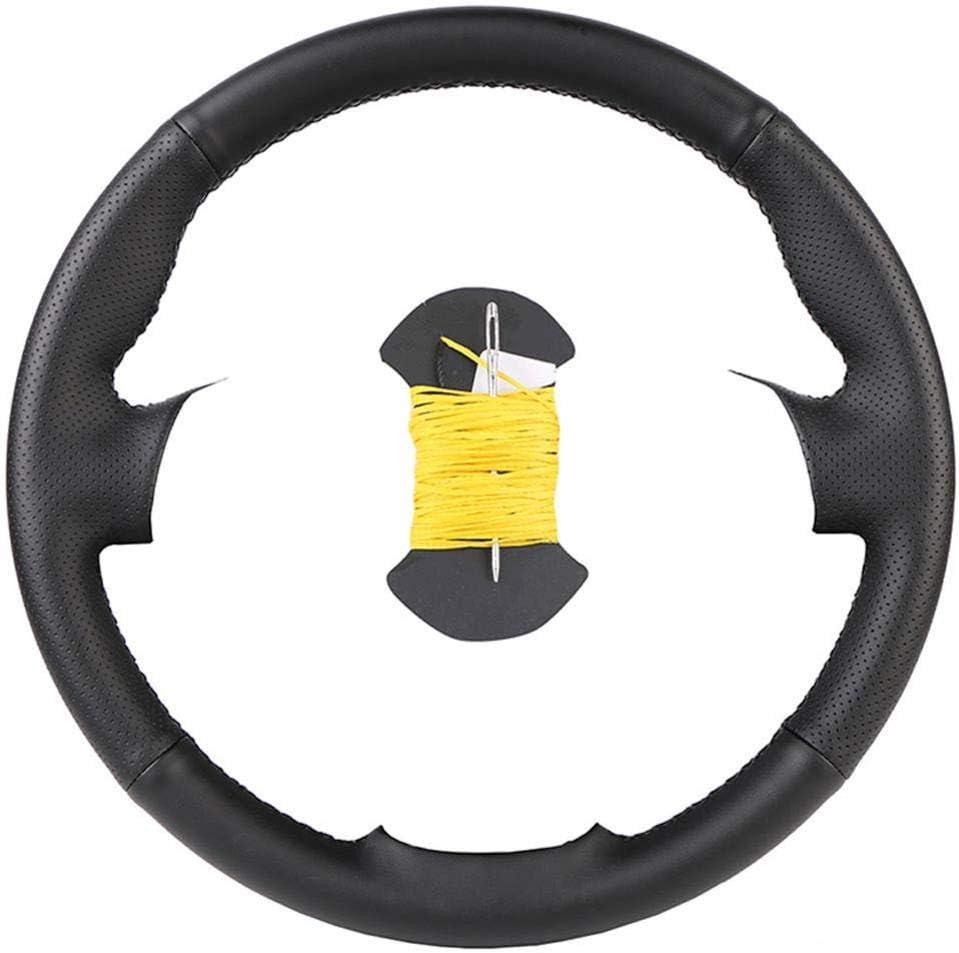 ZMCYQGL Leather Steering Wrap Customized Car Sales for sale Wheel Nashville-Davidson Mall DIY