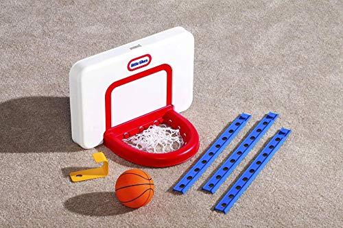 Little Tikes Attach 'n Play Juego de baloncesto - Diversión en interiores - Altura ajustable - Juego activo - Incluye pelota - Edad: Para niños de 24 meses a 5 años