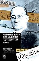 Mehmet Emin Resulzade Secme Eserler 1 - Kitaplar