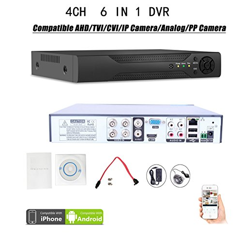 4CH 960H H.264 DVR 4 Channel Digital Video Recorder 1080P for Security Camera HL