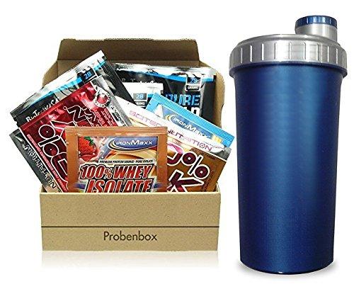 Supplement Sample Box - 20 Proben diverser Hersteller + Shaker