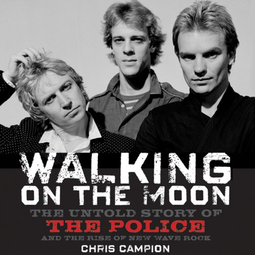 Walking on the Moon audiobook cover art