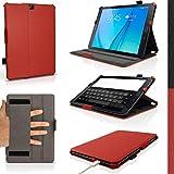 iGadgitz U4148 PU Cuir Etui Housse Case Cover et Protecteur D'écran Compatible avec Samsung Galaxy Tab S2 9.7'' SM-T810 et...