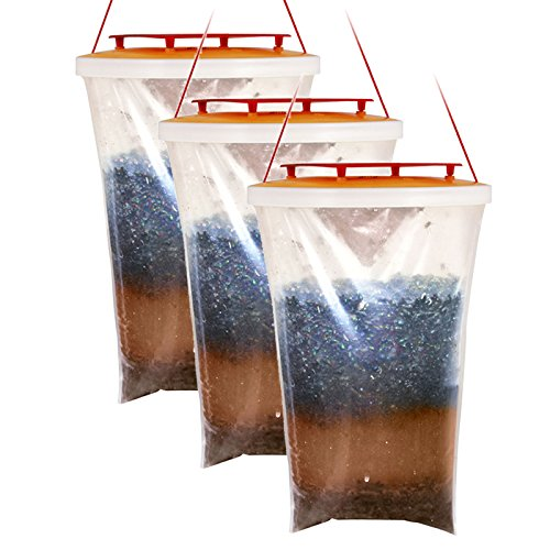Trappola per mosche originale Red Top (3 pezzi)