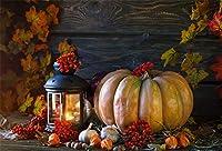 AOFOTO 秋の収穫シーン背景 秋 パンプキン フェスティバル 写真背景