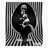 Bargaineddeals Choupette Rip Lagerfeld Karl Home Decor