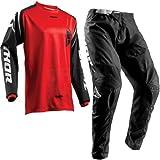 Thor Tuta da Motocross Sector MX Combinazione di Jersey e Pantaloni Moto Tuta da...