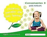Nuevo jardín de las letras. Consonantes 3. Pauta.: Lectoescritura Pauta (Educación Infantil Algaida. Lectoescritura) - 9788490677322