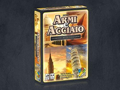 Gioco di carte Crea la tua civiltà Dall'età della pietra all'età moderna Include due set di gioco