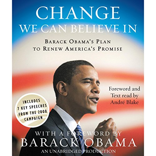 Change We Can Believe In audiobook cover art
