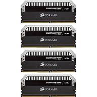 CORSAIR DOMINATOR PLATINUM 16GB (4x4GB) DDR4 3200MHz C16 Desktop Memory